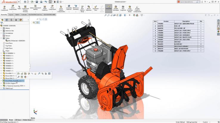 Thiết kế sản phẩm với Solidworks