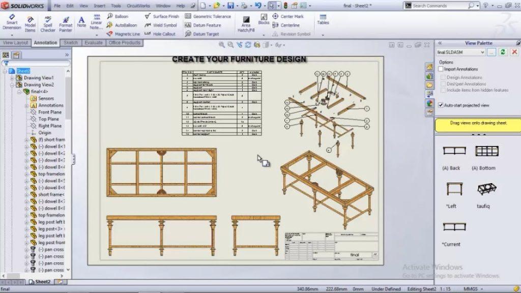 Khóa học thiết kế Solidworks cơ bản
