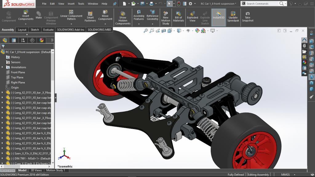 Phần mềm thiết kế Solidworks