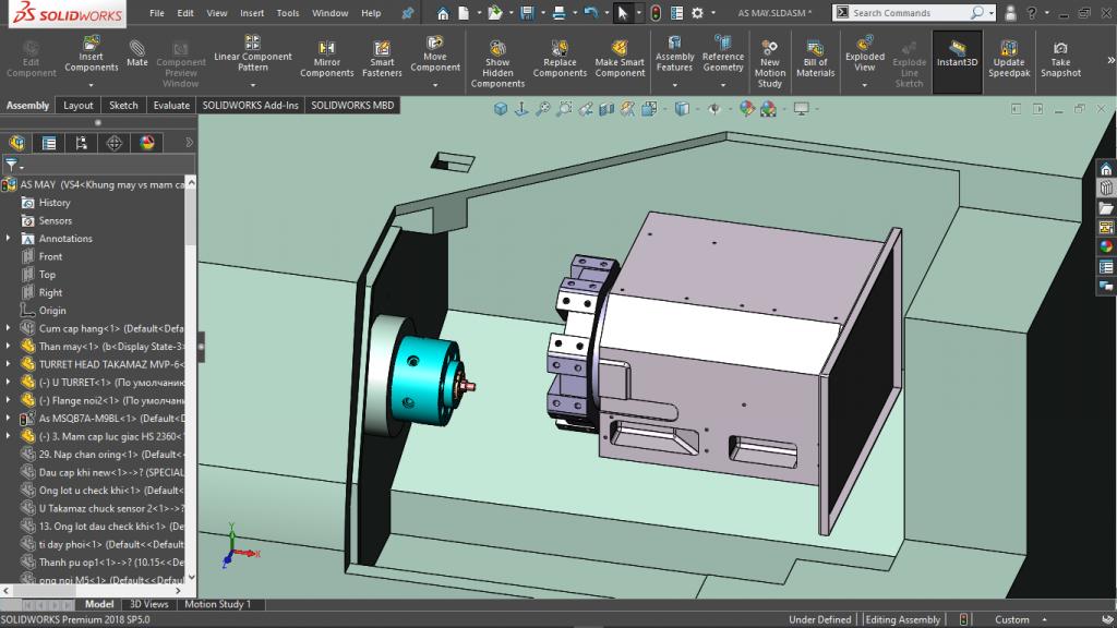Hoc ve solidworks 3D
